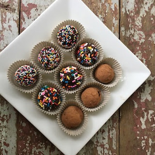 Spicy Harissa Chocolate Truffles.