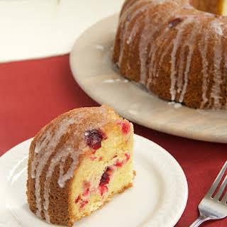 Cranberry Bundt Cake.