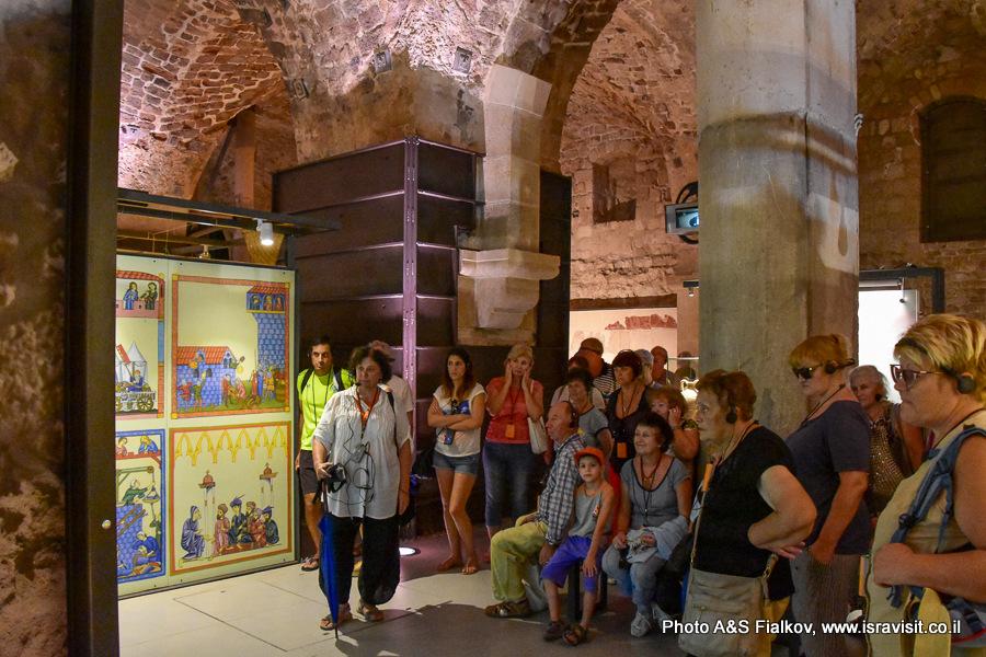 Экскурсия в Акко. Подземный город крестоносцев. Гид Светлана Фиалкова.