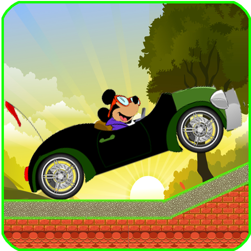Mickey hill climb drive : Mouse car games