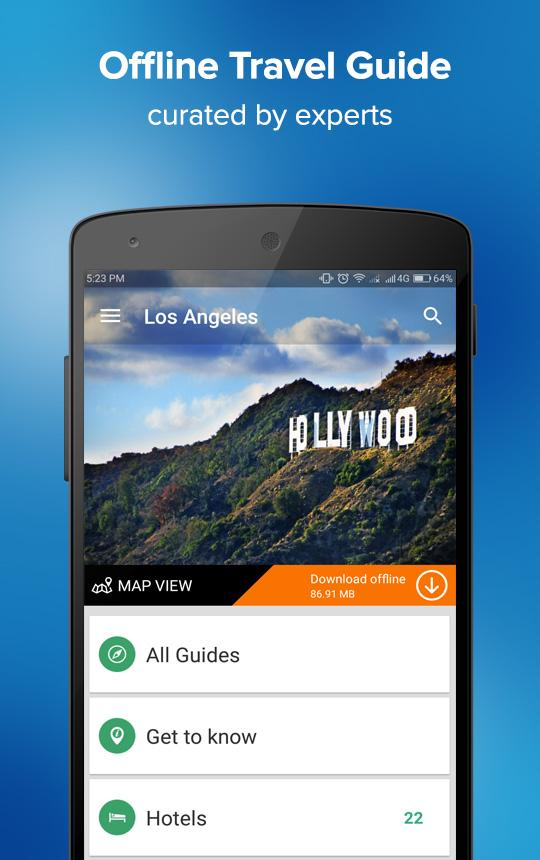 Los angeles travel guide android apps on google play for Los angeles vacation guide