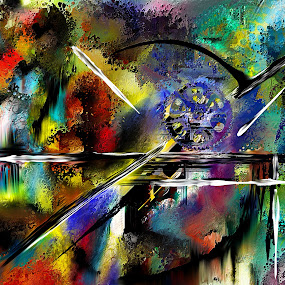 Progress Lost by Glen Sande - Painting All Painting ( abstract, contemporary, digital art, progress lost, conceptual, painting )