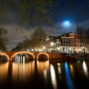 Canal  by Benjamin Arthur - City,  Street & Park  Street Scenes ( benjamin, holland, photographer, benjaminarthur.com, amsterdam, capital, photography, netherlands, arthur )