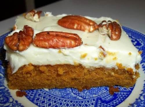 "The Best Pumpkin Bars ""These were the best pumpkin bars I've ever..."