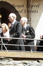 Photo: Princess Yvonne, Prince Rainer and Prince Karl of Hesse
