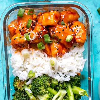 Honey Sriracha Chicken Meal Prep Bowls Recipe