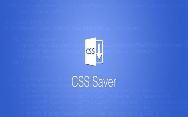 CSS Saver