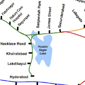 Hyderabad Train Map