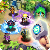 Tap defender : Heroes magic defense