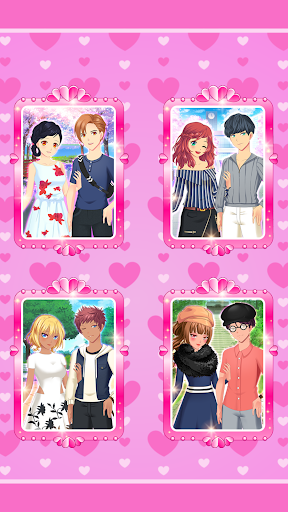 Anime Couples Dress Up Game android2mod screenshots 18