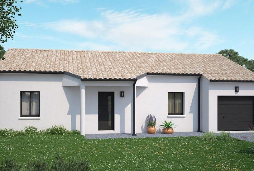 Vente Terrain + Maison - Terrain : 663m² - Maison : 96m² à Neuville-De-Poitou (86170)