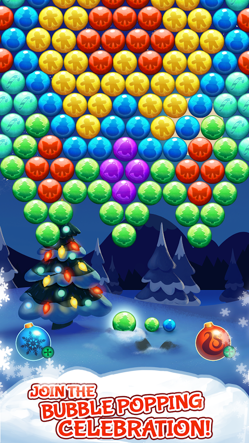 Bubble Shooter Christmas- screenshot