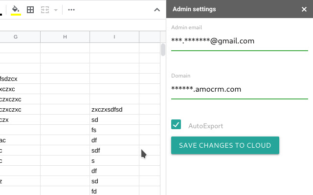 Sync Google Sheet and amoCRM