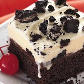 Fudge Ice-Cream Dessert.