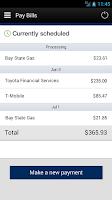 Screenshot of Pegasus Bank Mobile Banking