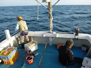 Photo: さあー!真鯛釣り。 ガンバリましょ!