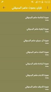ماهر المعيقلي- القران الكريم كاملا - náhled