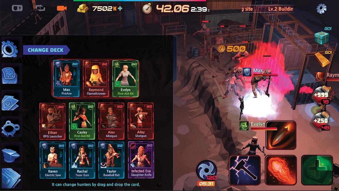 Defense Zombie Hunter: Idle Battle RPG