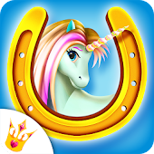 Princess Pony Horse Caring - Beauty Salon Makeover