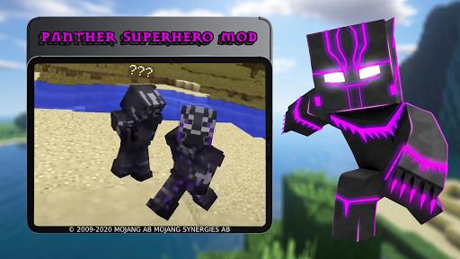 Panther Superhero Mod 7.6 screenshots 8