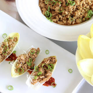P.F. Chang's-inspired Chicken Endive Wraps (Gluten-Free).