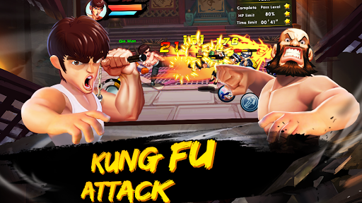 Kung Fu Attack - PVP apkpoly screenshots 5