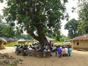 Photo: Community meeting under Palaver tree