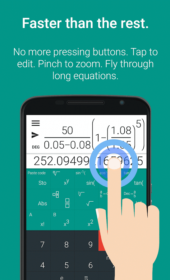 Natural Scientific Calculator- screenshot
