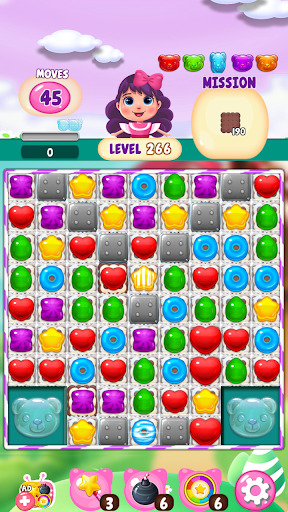 My Jelly Bear Story : New candy puzzle apktram screenshots 3