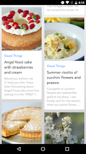 Good Things App- screenshot thumbnail