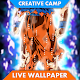 Fanart Ultra Instinct Songoku Live Wallpaper APK