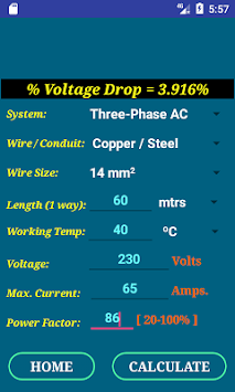 Download pec wire size calculator free apk latest version app for pec wire size calculator free poster keyboard keysfo Image collections