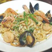 Seafood Linguine Pescatore