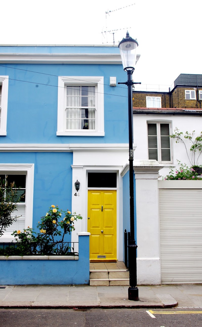 Case inglesi in quel di Notting Hill. di micphotography