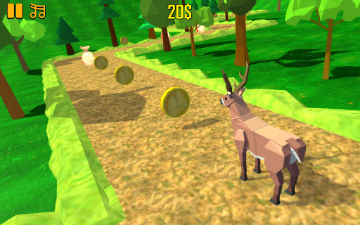 ZigZag Scream: Blocky Animals  screenshots 1