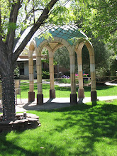 Photo: Another view of the gazebo showing more of the central garden.
