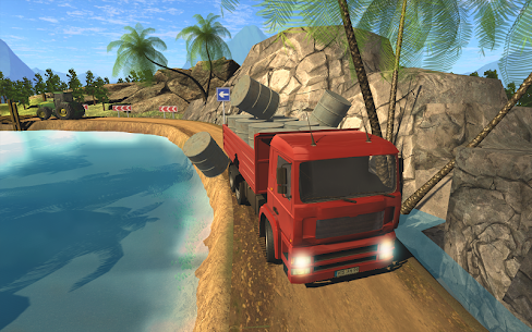 Truck Driver Cargo Delivery 3