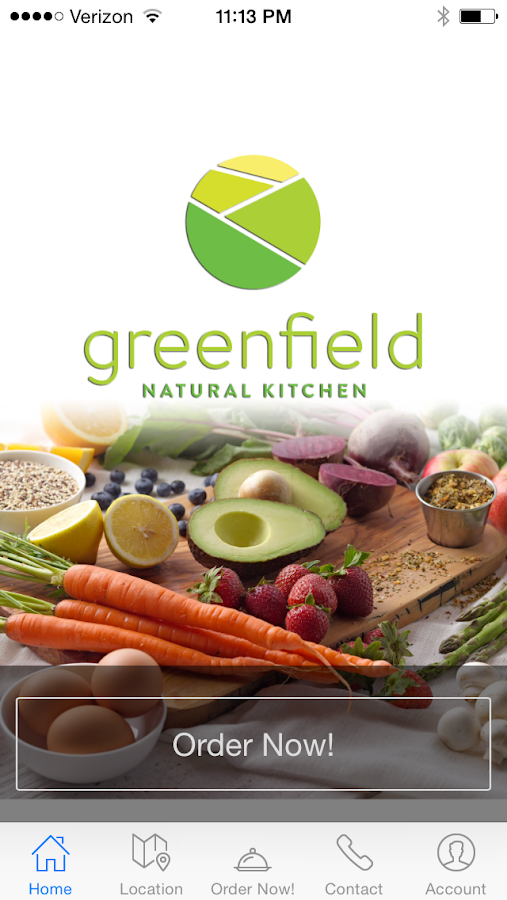 Greenfield Natural Kitchen- screenshot