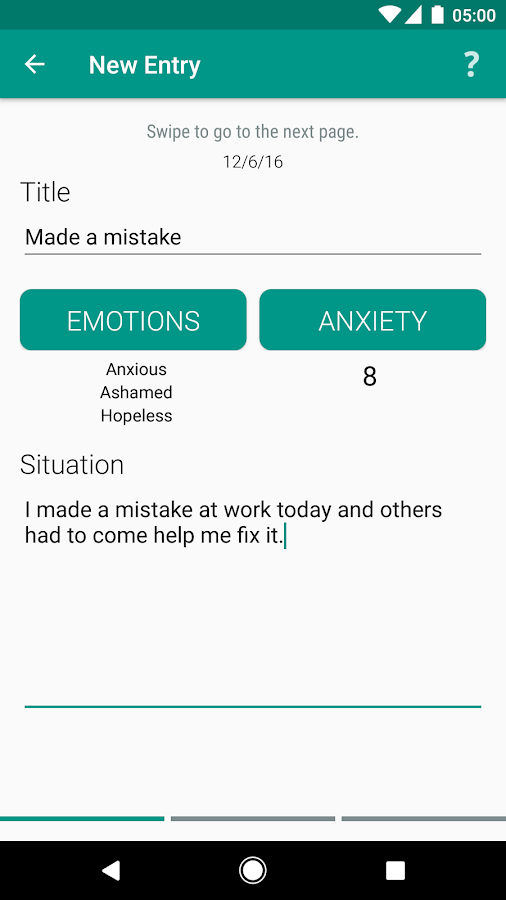 FearTools - Anxiety Aid- screenshot