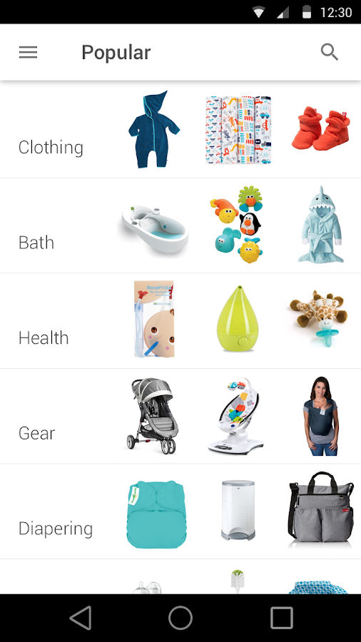Babylist Baby Registry- screenshot