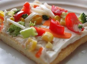 Vegetable Pizza Recipe