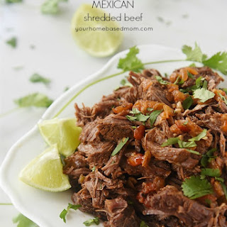 Mexican Shredded Beef {Instant Pot or Slow Cooker} Recipe
