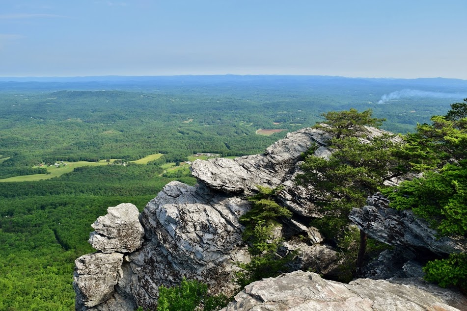 Hanging Rock Five Overlooks - Take a Hike!
