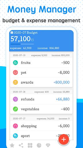Money Manager - Expense Tracker & Budget App  screenshots 1