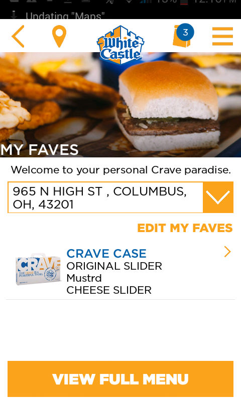 COLUMBUS, Ohio, March 14, /PRNewswire/ -- White Castle, the true destination for Craver weddings for more than a decade, held the first Royal Wedding at the Las Vegas White Castle .