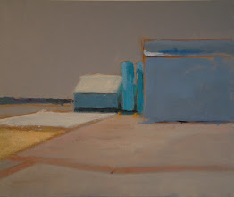 Photo: BUILDINGS WITH TURQUOISE TOWERS acrylics sold
