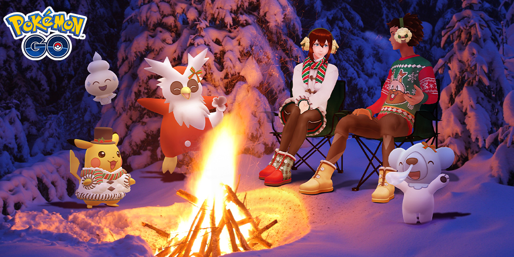 Celebrate Pokémon GO Holidays 2020 with holiday- and ice-themed Pokémon!