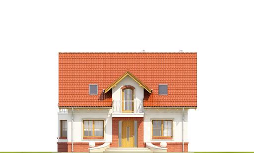 Dom Dla Ciebie 1 w2 bez garażu B - Elewacja przednia