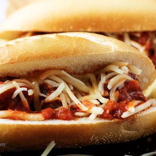 Meatball Marinara Sub Sandwich Recipe