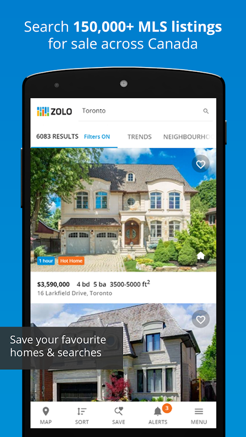 Real Estate in Canada by Zolo- screenshot